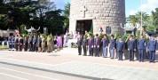 Cerimonia di commemorazione dei caduti
