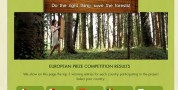 """Concorso a premi """"Do the right thing, save the forests!"""""""