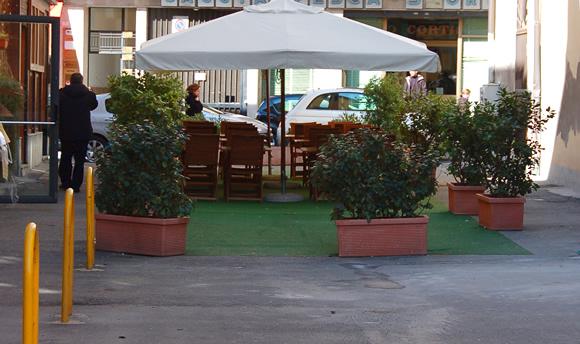 Cagliari - gazebo ristorazione