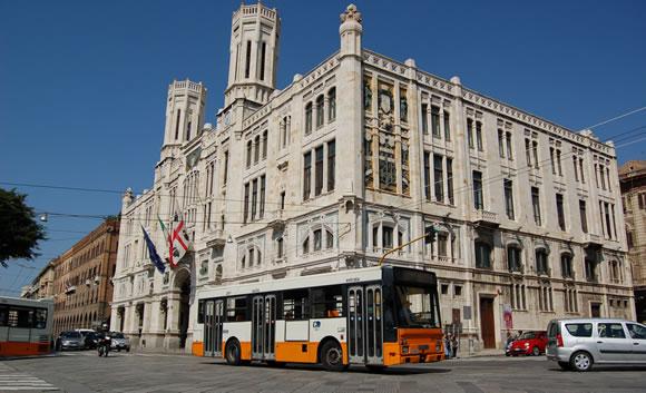 Ctm bus a Cagliari