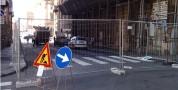 Lavori. Chiusa al traffico la via Sassari