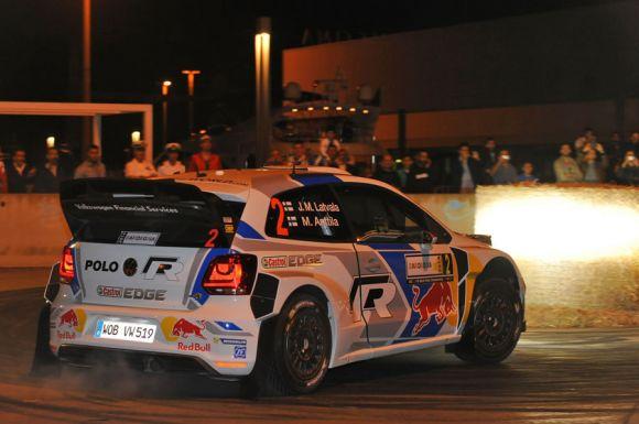 Jari-Matti Latvala, Miikka Anttila Volkswagen Polo WRC #2 - 2014.rallyitaliasardegna.com/it