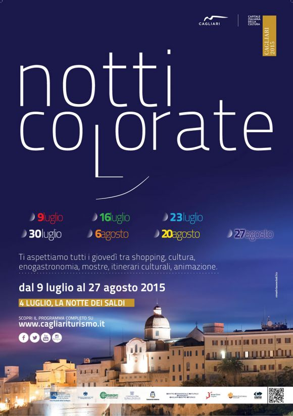 Notti Colorate 2015 - Locandina