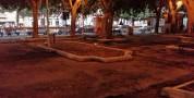Pulizia straordinaria in piazza Garibaldi nell'area dei lavori di riqualificazione