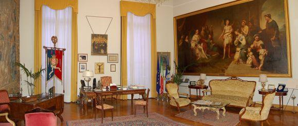 Palazzo civico - studio del sindaco