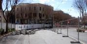 Cedimento del manto stradale Lavori in viale Regina Margherita