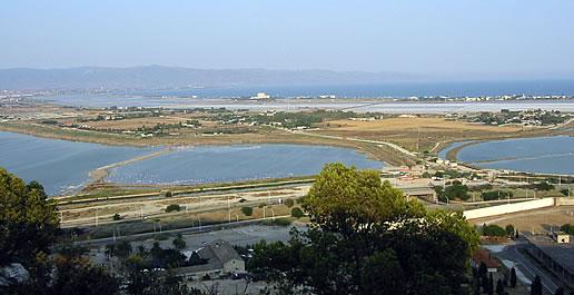 Panorama su Molentargius - Saline