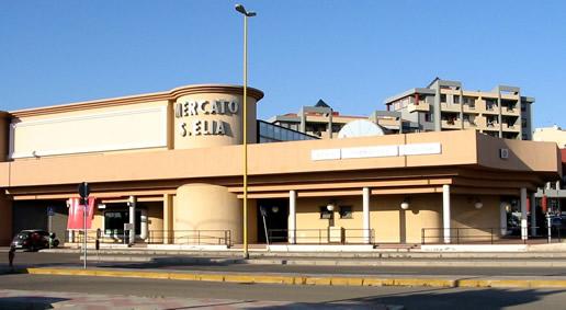 Mercato civico di Sant'Elia a Cagliari