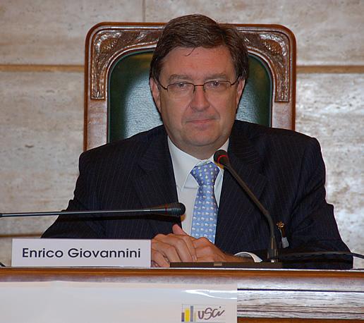 Enrico Giovannini presidente ISTAT