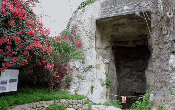Ingresso Grotta della Vipera