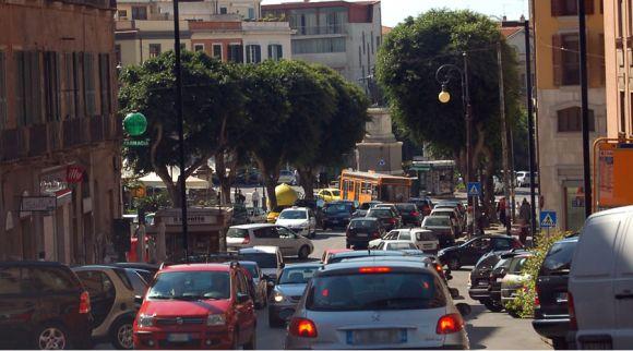 Traffico a Cagliari