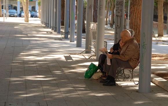 Anziani a Cagliari
