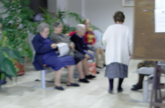 Anziani ospiti a Terramaini - Cagliari
