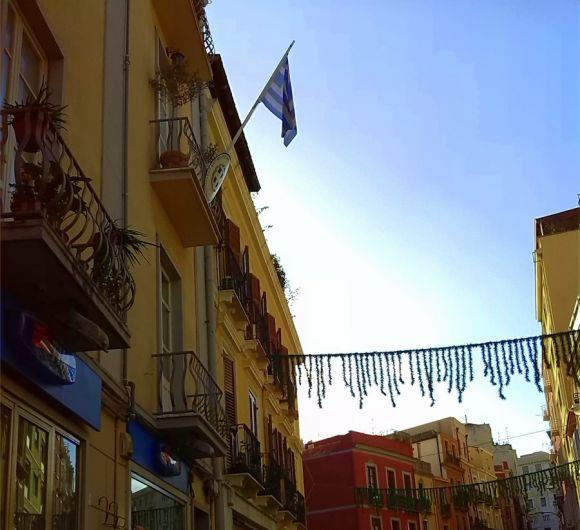 Bandiera Consolato Onorario della Repubblica ellenica