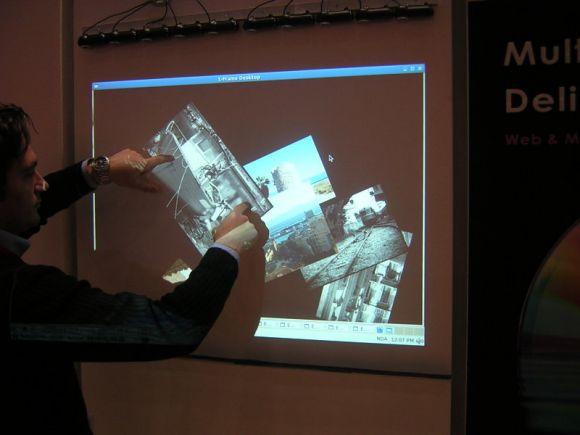 T frame parete interattiva Pietro Zanarini Nova100.- il sole24ore.com