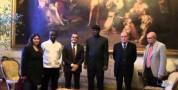 Mauro Coni ha ricevuto una delegazione del Benin